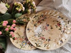 Antik Fischer tányér