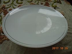 Rosenthal ezüst csíkos tál 24,7 cm