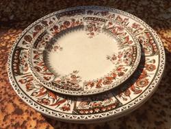 3 db fajansz tányér