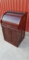 Restaurált,rolós,bükk irattartó szekrény....hibátlan...