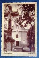 Régi képeslap Mátrafüred Kápolna