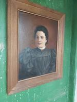 Barabás Miklós szignós festmény biedermeier 835, hagyatékból.