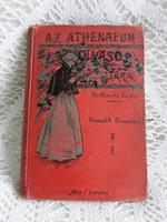 120 éves antik könyv,  1898.