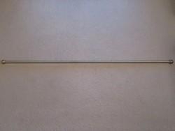 2 darab réz karnis 120 cm és 280 cm (2x140 cm)