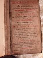 1838 antik eredeti imakönyv