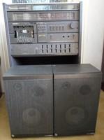 """Schneider """"Team 54.1 RC"""", retro német hifi: rádió, magnó, lemezjátszó, hangfal (NSZK, 1980-as évek)"""