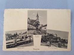 Várpalota régi képeslap levelezőlap