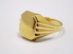 Arany pecsétgyűrű (ZAL-Au89176)