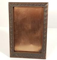 Kopcsányi Ottó - bronz iparművészeti asztali képkeret