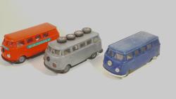 3db VW T1 lemezárugyári mikrobusz