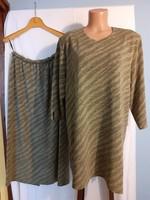 Elegáns, kétrészes ruha, együttes (XL)