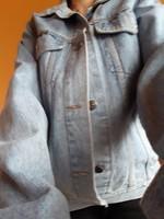 Kék színü farmer dzseki eladó