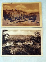 2 db régi képeslap SOPRON