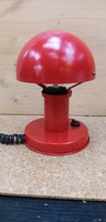 Retro - piros - asztali lámpa