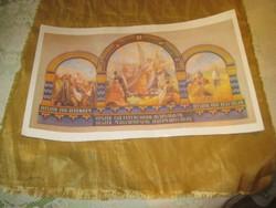 Hiszek egy Istenben , Hiszek ...  , egy régi szép  Trianon   kiadvány  a 20 as évekből  43x 27 cm