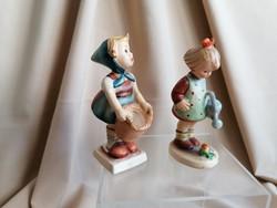 Húsvétra, 2 bájos Hummel figura