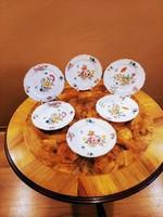 Hüttl Tivadar- Meisseni- tányér készlet