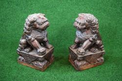 Valódi kő Foo oroszlán Kínából!