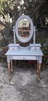 Provence vintage fésülködő asztal
