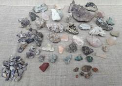 Ásványok és kőzetek.