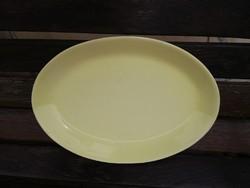 Kispesti Gránit sárga színű pecsenyés tál, sültes tál. Nosztalgia