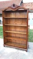 Gyönyörű Felújított Antik Neobarokk Könyves szekrény!Leárazva!!!