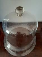 Üveg füst harang  30 x 30 cm