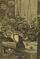 1A033 Kádár Katalin : Asztali virágcsendélet