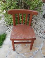 Ritka Thonet jellegű gyerek kisszék, szék nosztalgia darab, Gyűjtői szépség