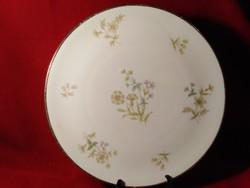 G01 Kpm Kriszter virág  mintás süteményes tál torta tál 27 cm