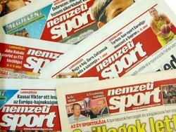 2012 május 9  /  Nemzeti SPORT  /  SZÜLETÉSNAPRA! RETRO, RÉGI EREDETI ÚJSÁG Szs.:  10257