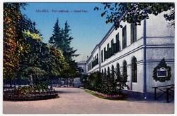 Pest Szálloda - képeslap, Szliács, Sliac 1914