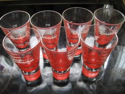 Rossbacher gyógyfüves likőrös pohár