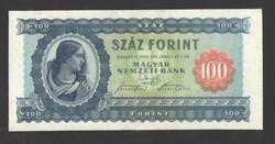 100 forint 1946.  GYÖNYÖRŰ, RITKA BANKJEGY!!