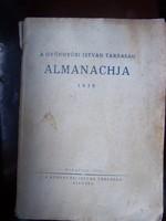 A Gyöngyösi István Társaság Almanachja. Budapest, 1938,