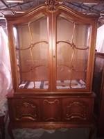 Warrings vitrines tálalószekrény 120x48x195cm