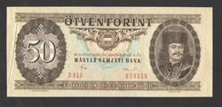 50 forint 1986. NYOMDAI PAPÍRRÁNC!! UNC!!