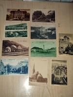 10 db képeslap magyar városok