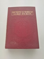 The Poetical Works of Lord Byron angol verses könyv Vol. 1