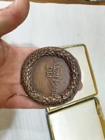 Réz plakett Jászai Mari díj