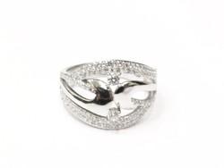Ezüst női gyűrű (Szeg-Ag84942)