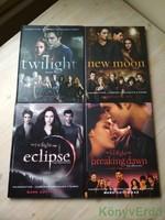 Mark Cotta Vaz: Kulisszatitkok / Illusztrált nagykalauzok a Twilight filmekhez (4 könyv)