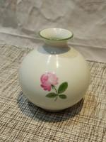 Bécsi Augarten rózsás váza.