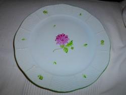 Herendi porcelán tányér  címeres jelzéssel 25,5 cm