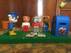 Négy Lego Állatka az 1980-as évekből