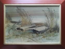 M. Tóth István: Csónakok