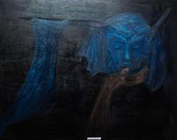 Olajfestmény feszített vászon 60 x 90 cm