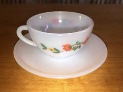 Arcopal kávés csésze (virágmintás)