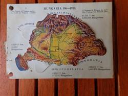 Irredenta, nagy Magyarország-elcsatolt részek képeslap