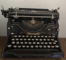 Underwood írógép, Antik, régi